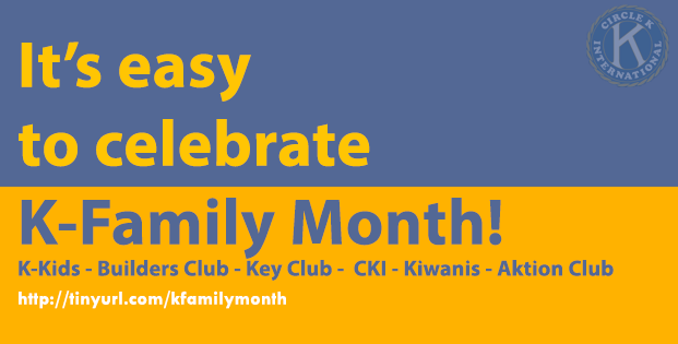November is Kiwanis Family Month
