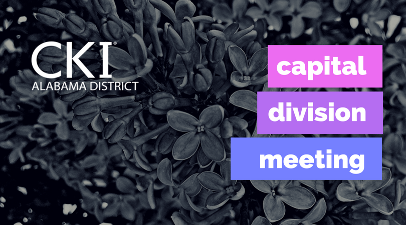 2018 Capital Divison Meeting